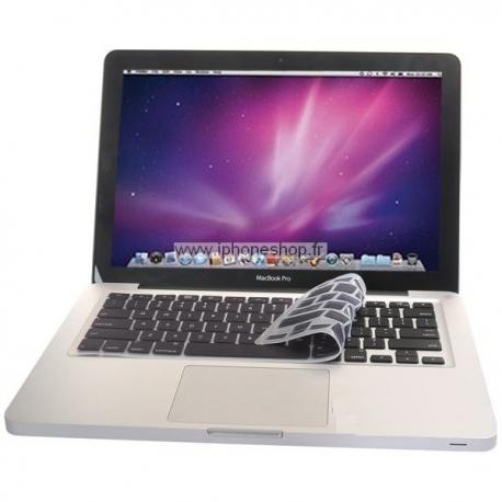 PROTECTION CLAVIER SILICONE MAC QWERTY