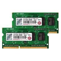 Barette de ram en kit 2 x 4 Go DDR3 1066 TRANSCEND