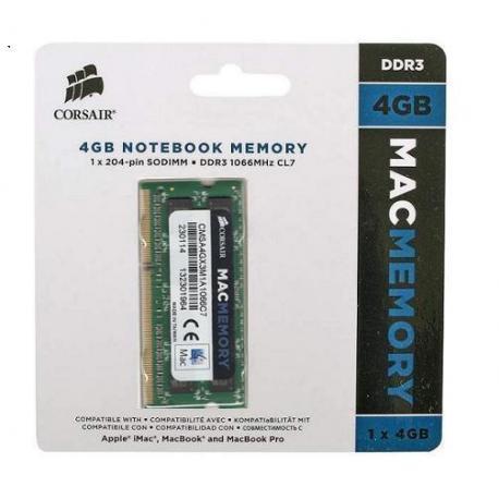 BARETTE DE RAM 8 GO (2X4 GO) MAC MEMORY CORSAIR