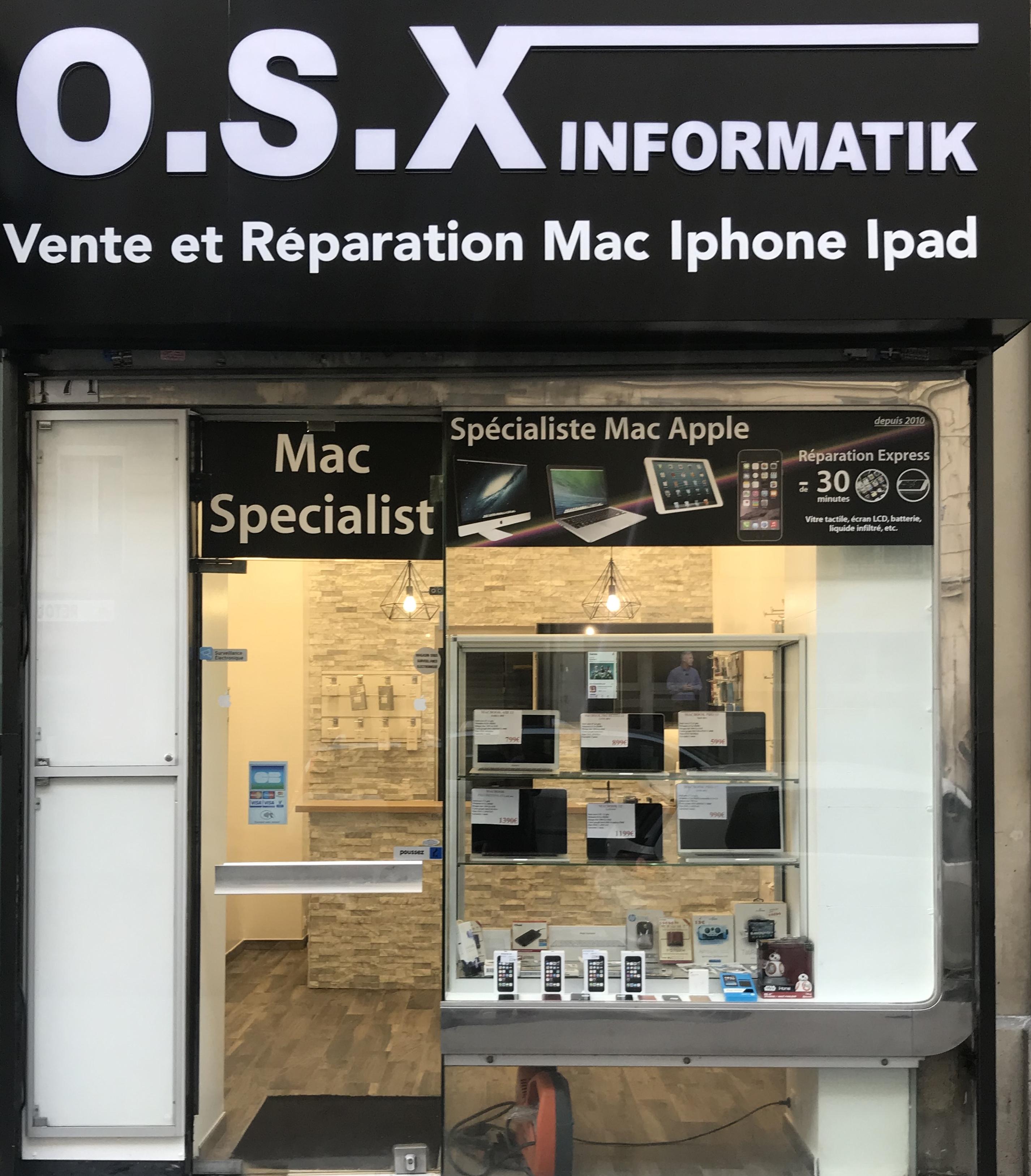 Boutique OSX INFORMATIK